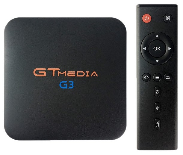 MiniPC TV BOX IPTV UltraHD 4K HEVC/H.265 ANDROID7.1.2 2/16GB WIFI 2.4G + 5G - GT-MEDIA