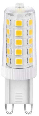 Lampada LED 220V G9 3W Branco Q. 3000K 300º 300Lm - Dimável