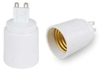 Suporte Adaptador Lampada G9 -> E27 - BLISTER