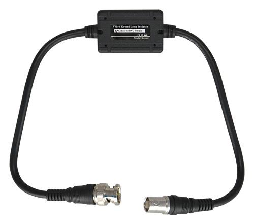 Isolador Terra CCTV BNC Macho - BNC Femea (Elimina Interferencias) - ProFTC