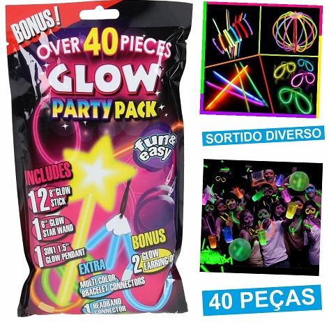 Kit de Tubos Luminosos (40pcs) - ProFTC