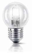 Lampada Lustre Halógeneo E27 18W (=25W) 220V
