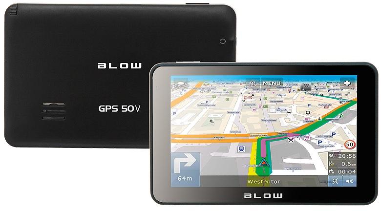 GPS de Navegação TFT 5 EUROPA - BLOW