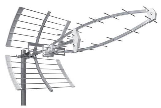 Antena Digital TDT UHF Exterior 16.5dBi LTE (38 Elementos)
