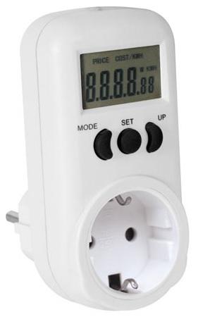 Medidor Digital de Custos de Energia (3600W) - ProFTC