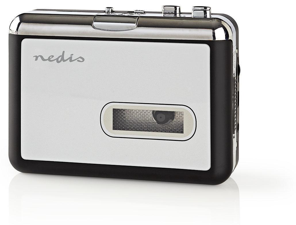 Leitor e Conversor de Cassetes de Música p/ MP3