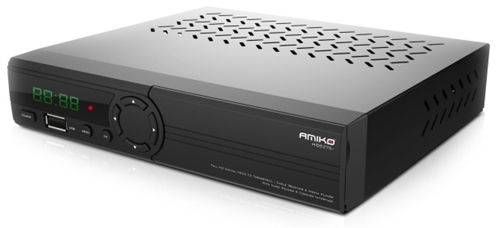 Receptor (CABO + TDT) H.265/HEVC - AMIKO