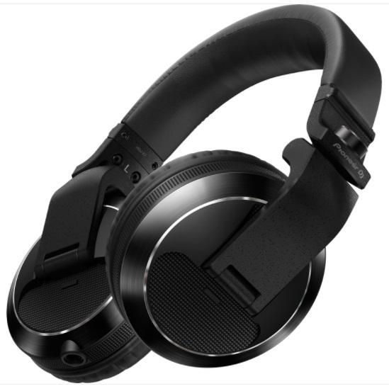 Auscultadores PRO (Preto) p/ DJ - Pioneer