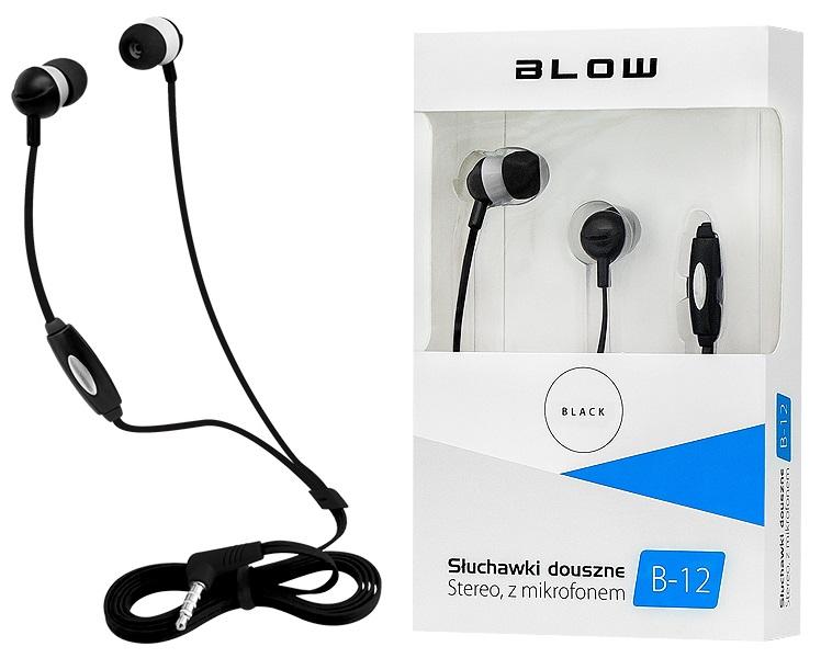 Headphones Stereo MP3/MP4 c/ Microfone (Preto) - BLOW