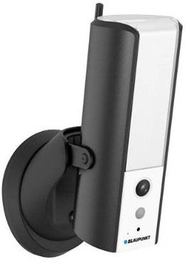 Câmara IP Full HD 1080p Wi-Fi LampCam c/ Lampada LED + Sensor Movimento PIR - BLAUPUNKT HOS-X20