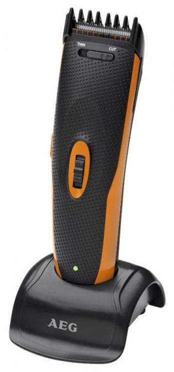 Aparador de Cabelo/Barba + Nariz/Orelhas a Bateria (Inox) - AEG