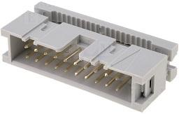 Ficha IDC 20 Pinos (2x10) Macho p/ Flat-cable