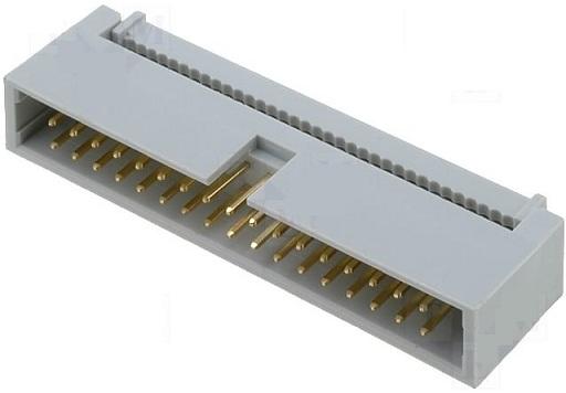 Ficha IDC 34 Pinos (2x17) Macho p/ Flat-cable
