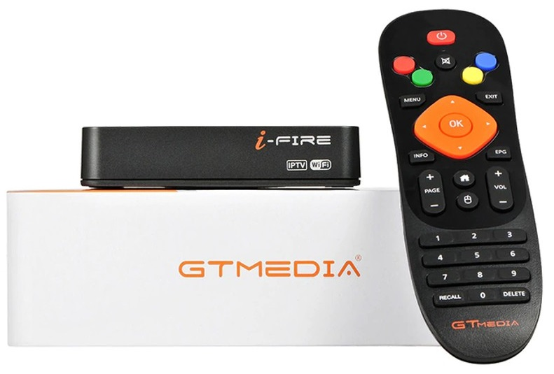 Receptor Full HD Wi-Fi Televisão - IPTV Set Top Box (I-FIRE) - GTMedia