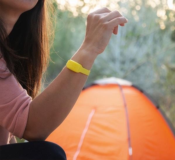 Pulseira Anti-Mosquitos de Citronela (Amarelo) - ProFTC