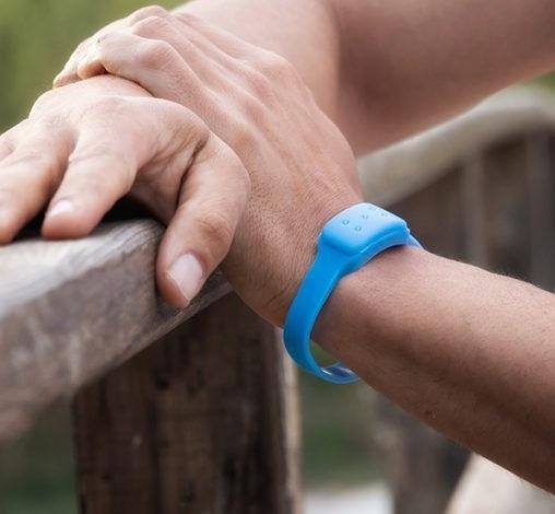 Pulseira Anti-Mosquitos de Citronela (Azul) - ProFTC