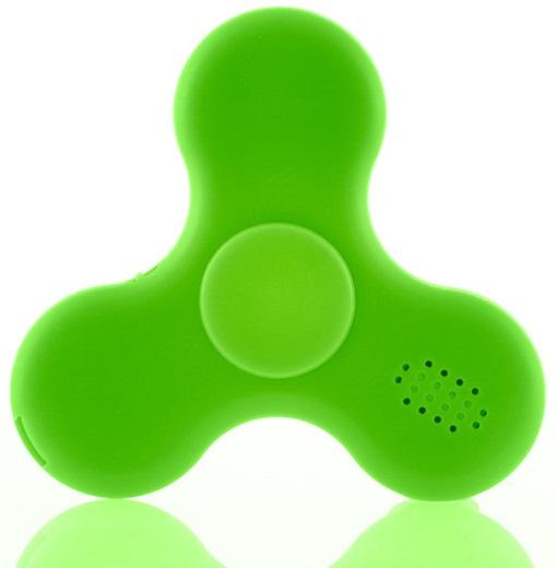 Fidget Spinner LED c/ Coluna Bluetooth (Verde) - ProFTC