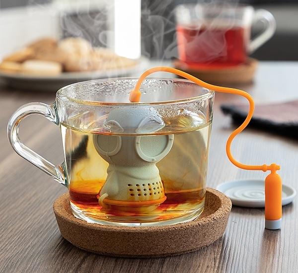 Infusor de Chá de Silicone Diver·t - ProFTC