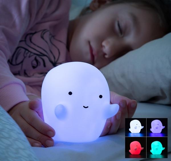 Candeeiro Fantasma Multi-Colorido LED (a Pilhas) - ProFTC