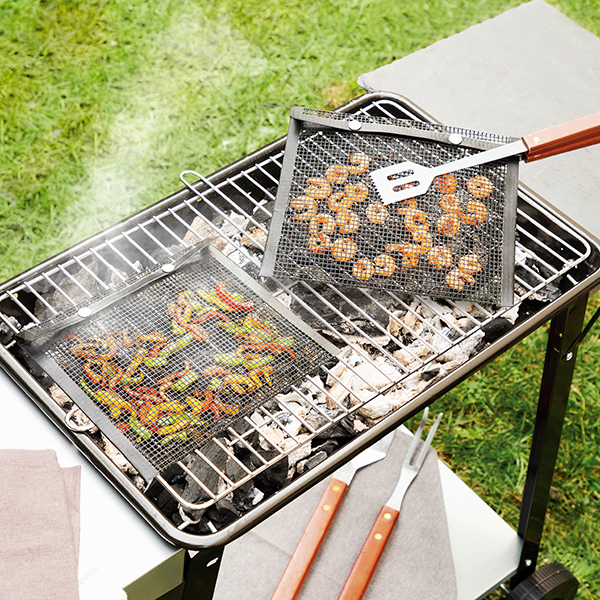 Pack 2x Sacos de Malha Churrasco p/ Barbecue BBQNet - ProFTC