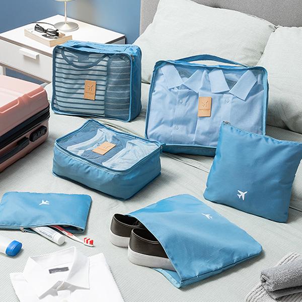 Pack de 6x Bolsas Luggan de Organização p/ Malas Viagem - ProFTC