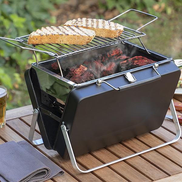 Mini Grelhador Barbecue Portátil e Dobrável - ProFTC