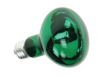 Lampada E27 Verde R80 60W 230V