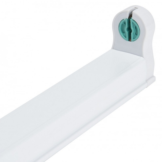 Armadura p/ Lampada Tubular LED T8 (1,50 mts) - INTERLIGÁVEL COM OUTRA(S)