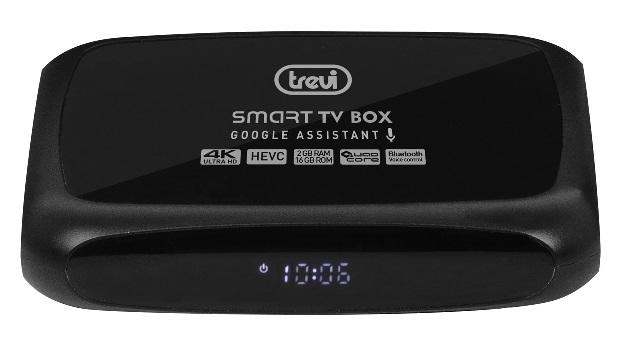 MiniPC TV Box UltraHD 4K ANDROID Quad-Core 2GB 16GB c/ Bluetooth - TREVI