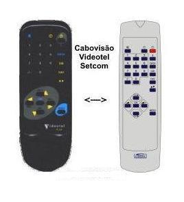 Comando Classic IRC83056 p/ Receptores CABO VISÃO