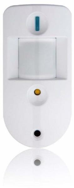 Sensor de Movimento s/ Fios Fios PIR c/ Câmara (Fotos) p/ Alarmes SA & Q Series - BLAUNPUNKT IRC-S2