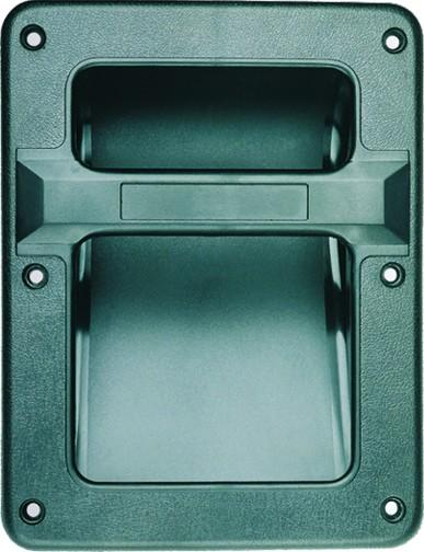 Pega Robusta em Plástico (210x160mm) p/ Aplicação em Coluna - HQ POWER