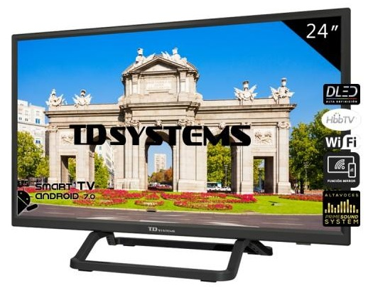 Smart TV DLED HD Ready 24 K24DLX10HS - TD SYSTEMS
