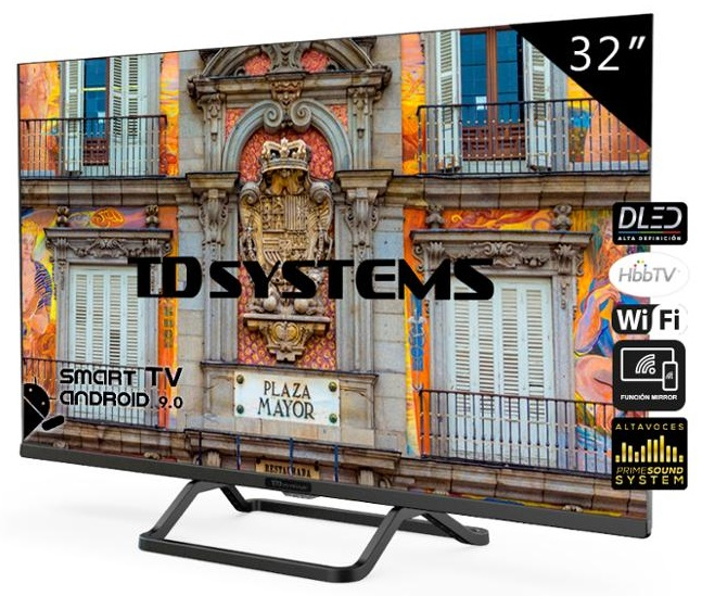 Smart TV DLED HD Ready 32 K32DLX10HS - TD SYSTEMS