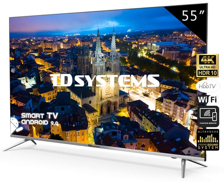 Smart TV DLED 4K UHD 55 K55DLJ10US Android 9.0 - TD SYSTEMS