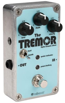 Kit Pedal THE TREMOR - Efeito Tremolo Óptico