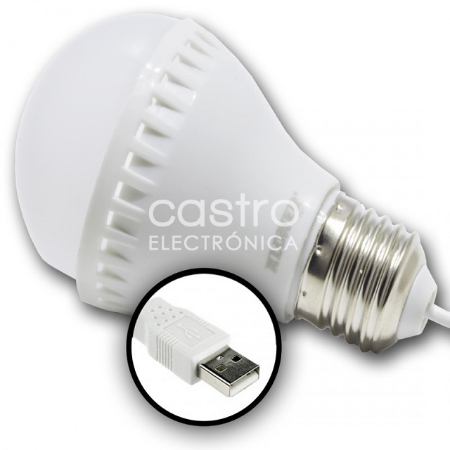 Lampada LED USB 5W Branco 4000K 400Lm - ProFTC