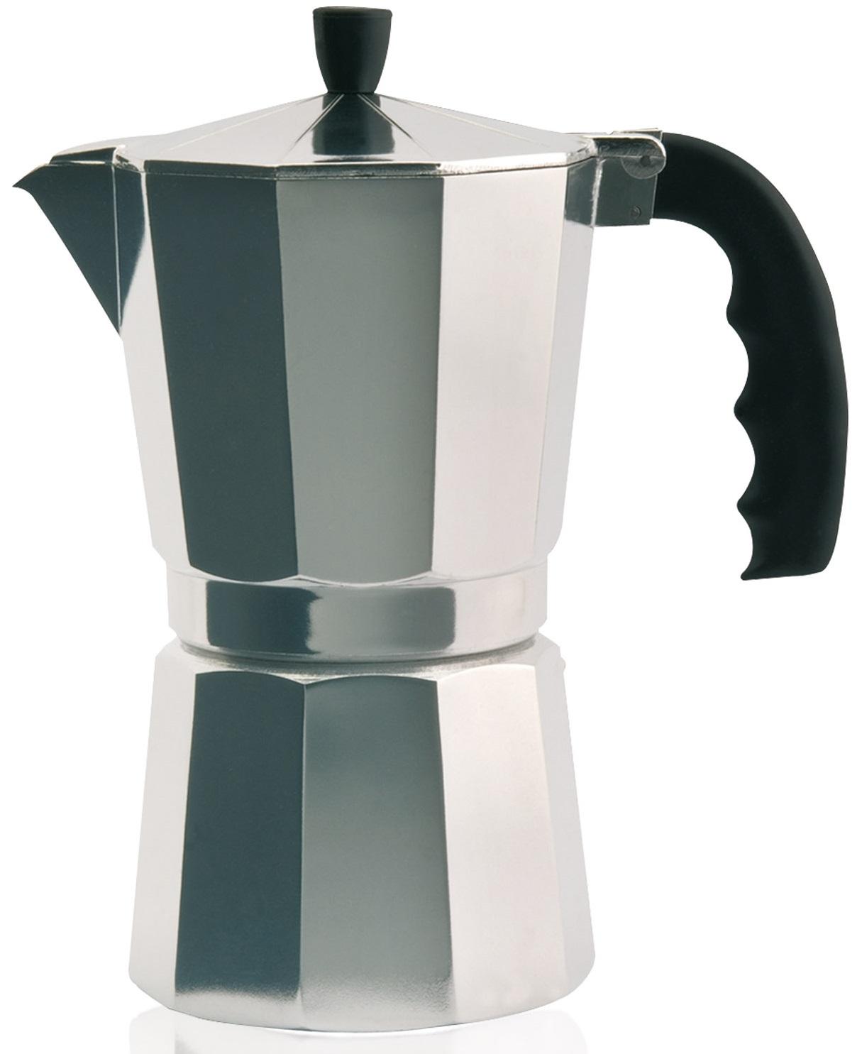Cafeteira de Alumínio (6 Chávenas) - ORBEGOZO