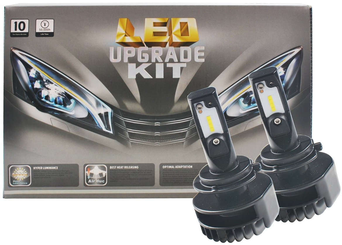 Kit 2x Lampadas Cree LED H7 6000K 48W 1800Lm (Substitui Xenon) - M-TECH