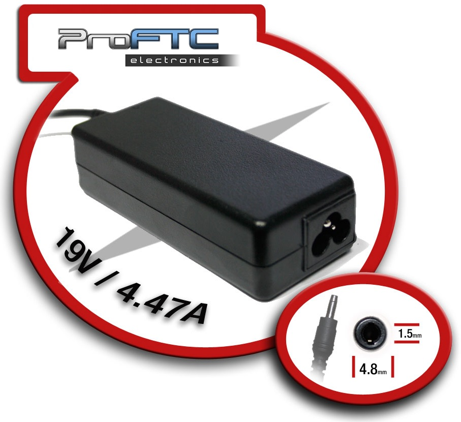Alimentador 19V 4,47A 90W (4,8 x 1,5mm) - ProFTC