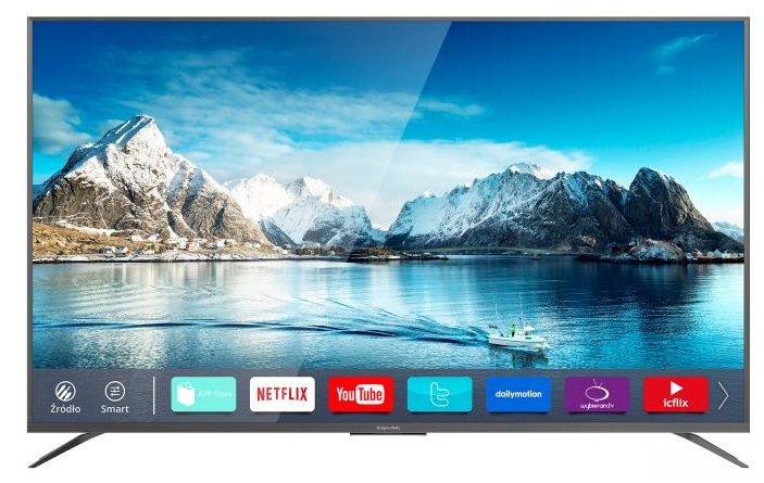 TV LED UltraHD 4K 55 SMART TV - Kruger&Matz