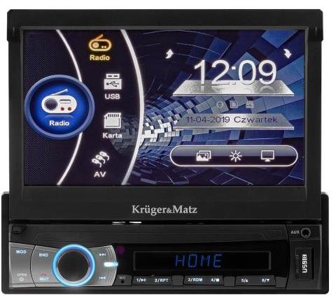 Auto Rádio TFT 7 (GPS, BLUETOOTH) MP4/DIVX/MP3/JPG/USB/SD... - Kruger&Matz