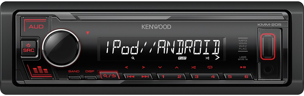 Auto Rádio RDS AM/FM 4x 50W USB/AUX/MP3 - KENWOOD