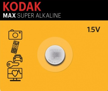 Pilha 1,5V Alcalina LR54/SG10/G10/189/LR1130/V10GA/RW89/LR11/V389/SR1130SW/SR54/V390/LR1131 - KODAK