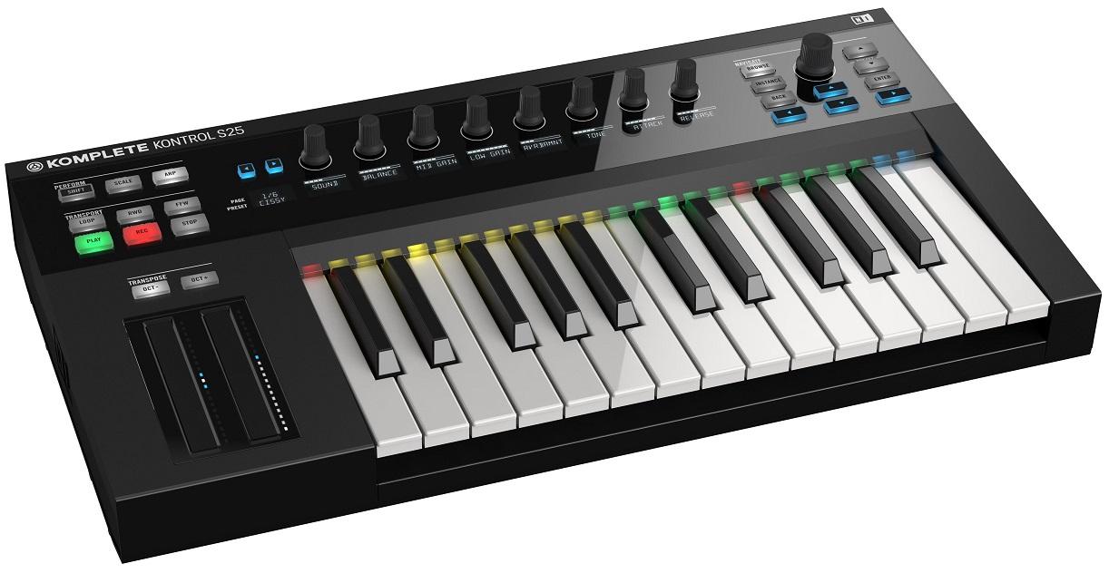 Teclado Controlador MIDI USB (KOMPLETE KONTROL S25) - Native Instruments