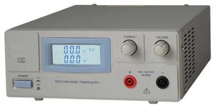 Fonte Alimentação Regulável 0~30V / 0~20A c/ Visor LCD Branco - ProFTC