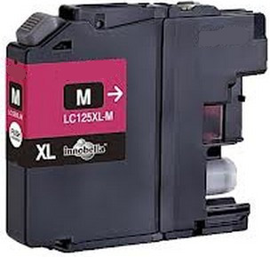 Tinteiro Compativel Brother LC125XL Magenta (V3)
