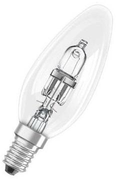 Lampada Chama Halógeneo E14 42W (=60W) 220V