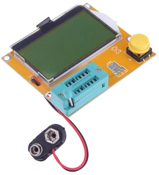 Analisador Comp. Passivos (Transistors, Condens ESR, Inductancia, Resistencia, NPN, PNP, MOS)