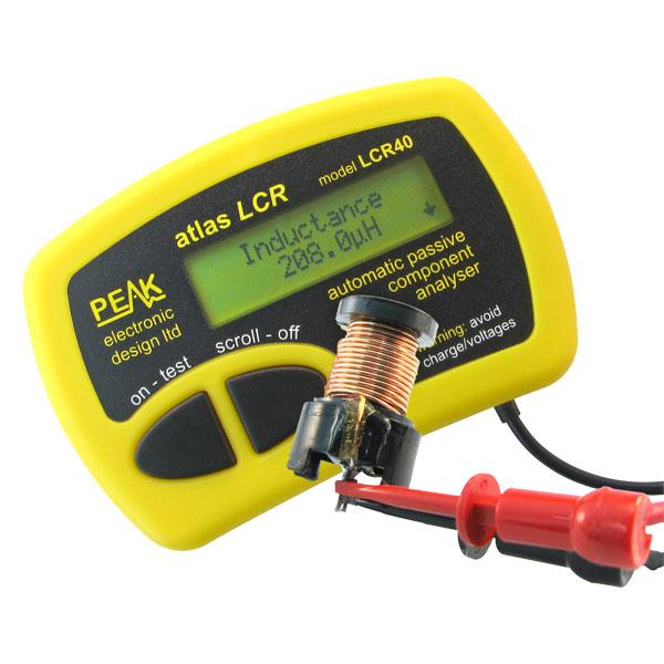 Analisador de Componentes Passivos LCR40